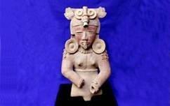 Mayan Warrior Figure