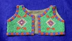 Beaded Infants Vest