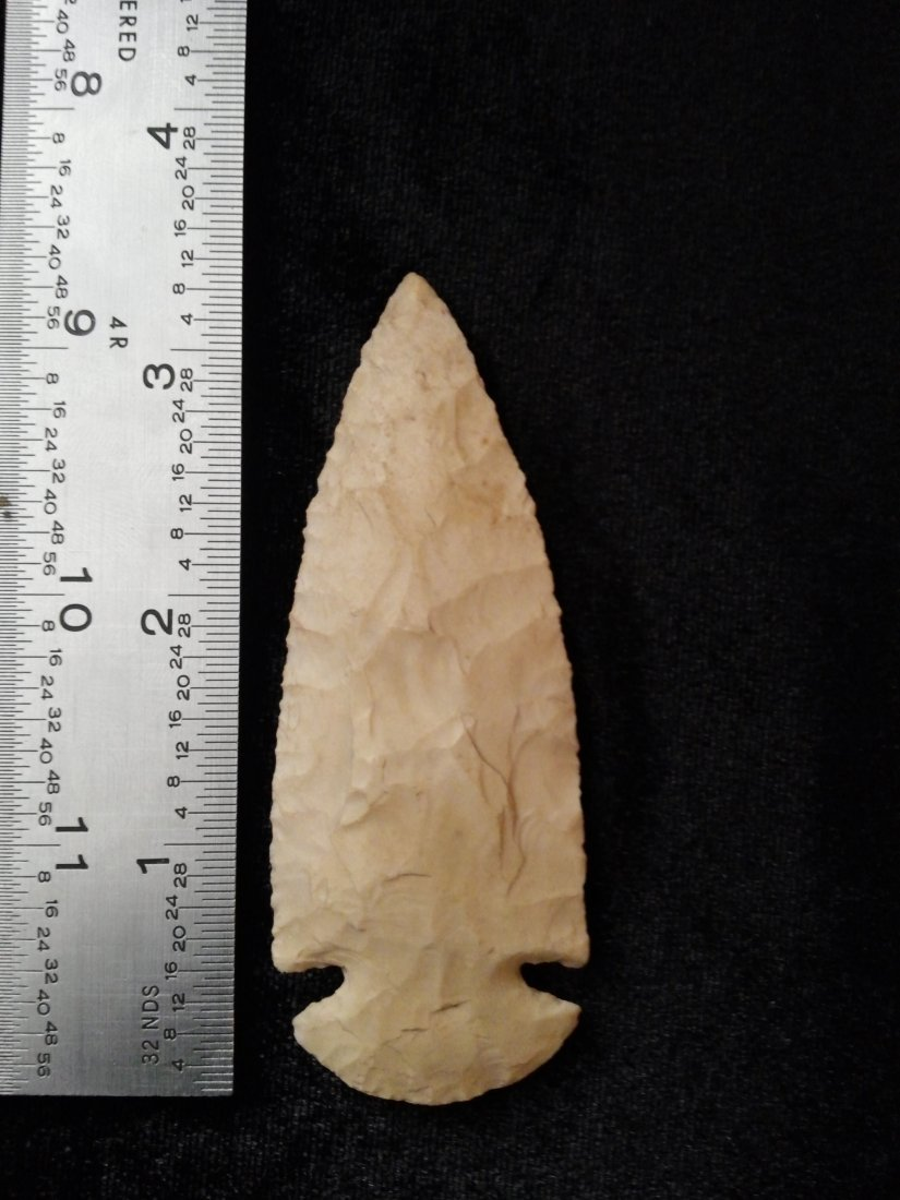 DOVETAIL   ARROWHEAD INDIAN ARTIFACT
