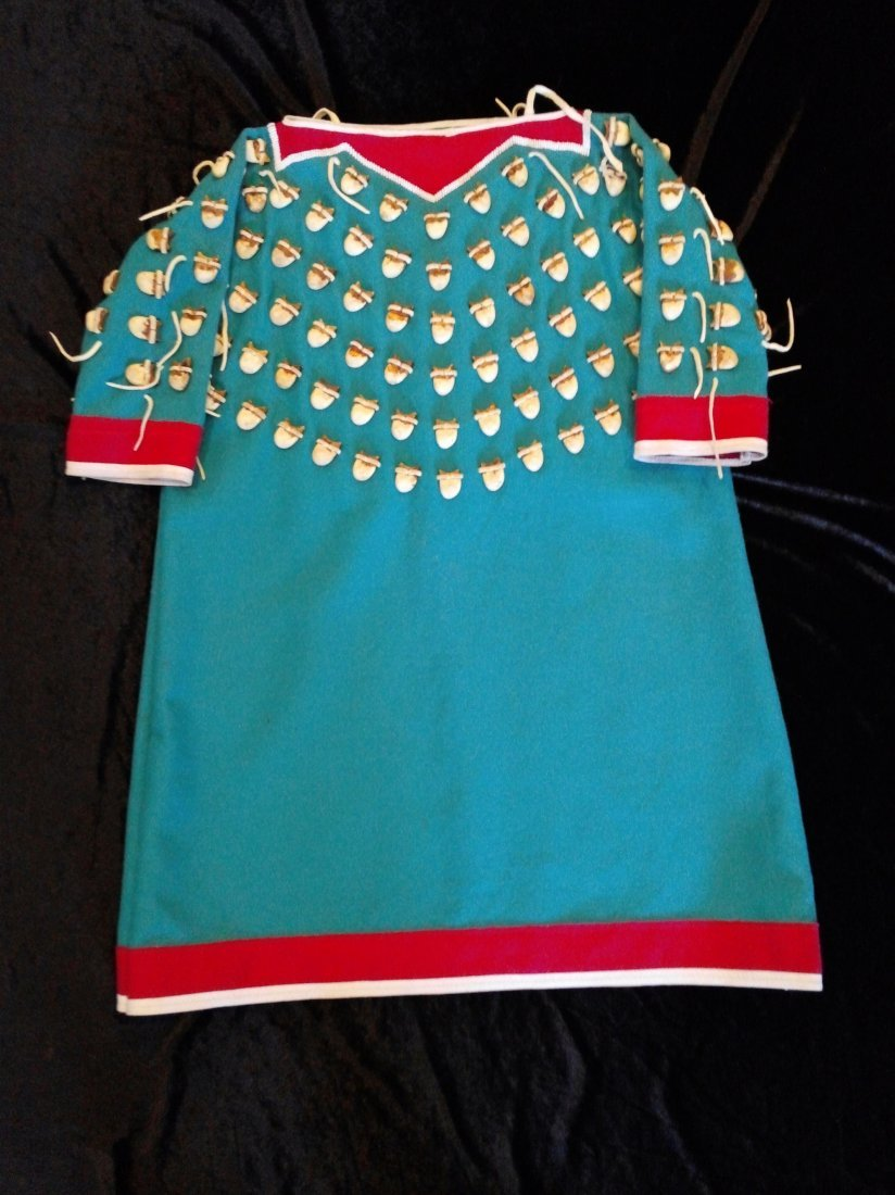 ELK TOOTH DRESS