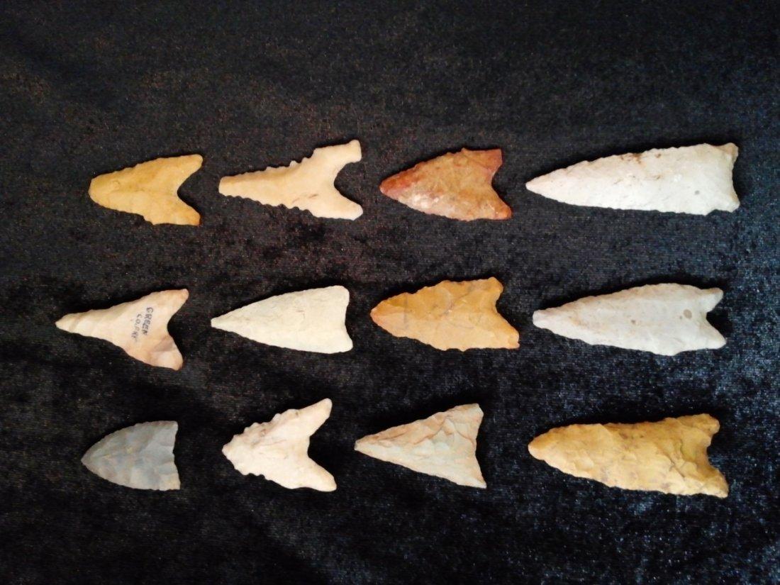 12 NICER DALTON ARROWHEADS