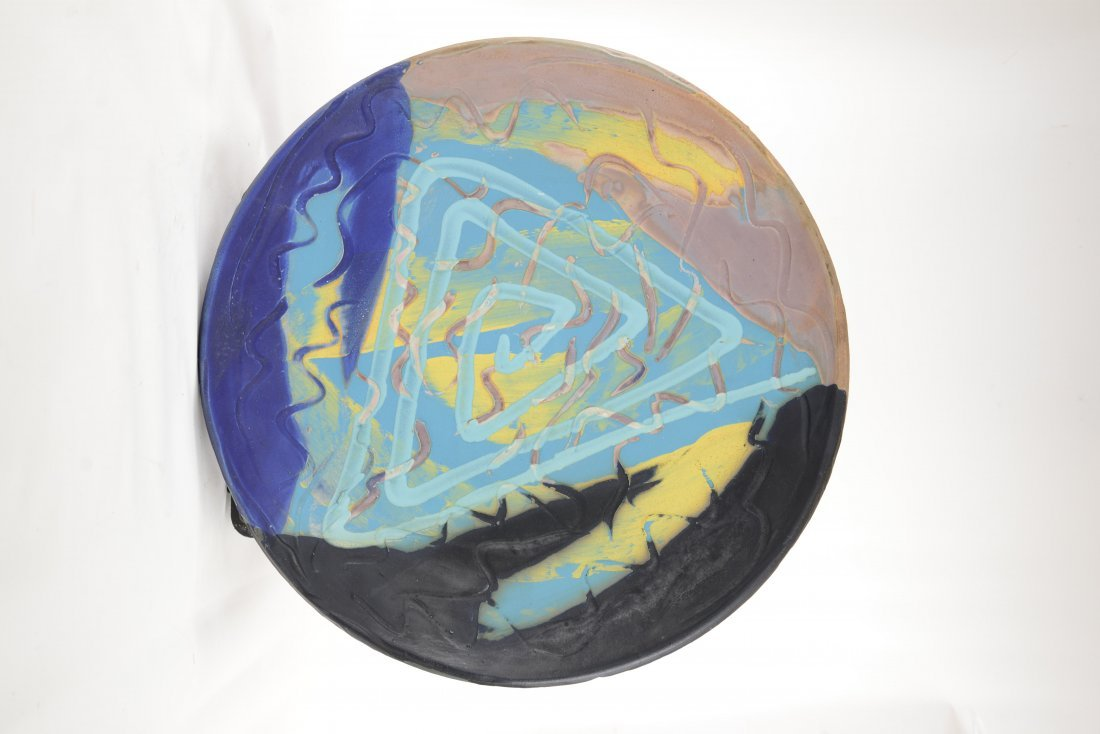 Large Arnie Zimmerman Abstract Charger