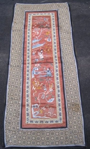 Antique Chinese Silk  textile