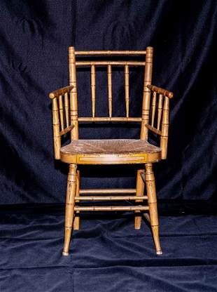 Wm. Challen Fancy Armchair