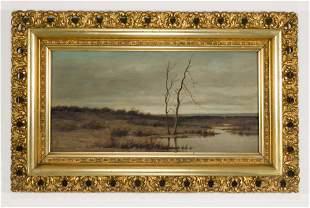 Harvey Joiner Oil on Artist Board