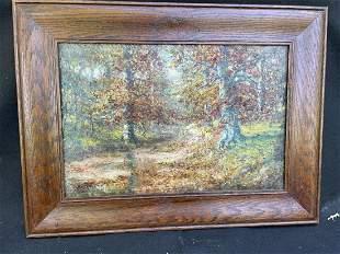 W.A. Eyden Oil on Canvas Landscape