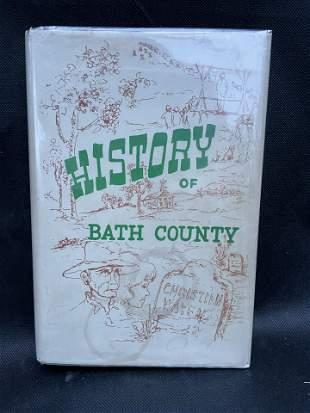 An Illustrated History of Bath County with Historical &