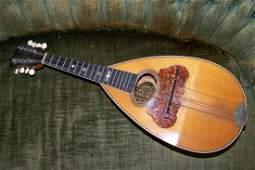 Antique Rosewood Bowlback Washburn Model 1897 Mandolin