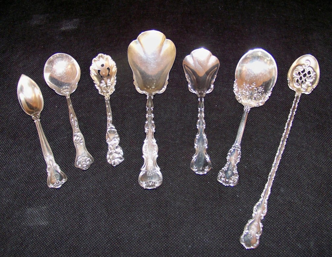 7 Assorted Sterling Spoons