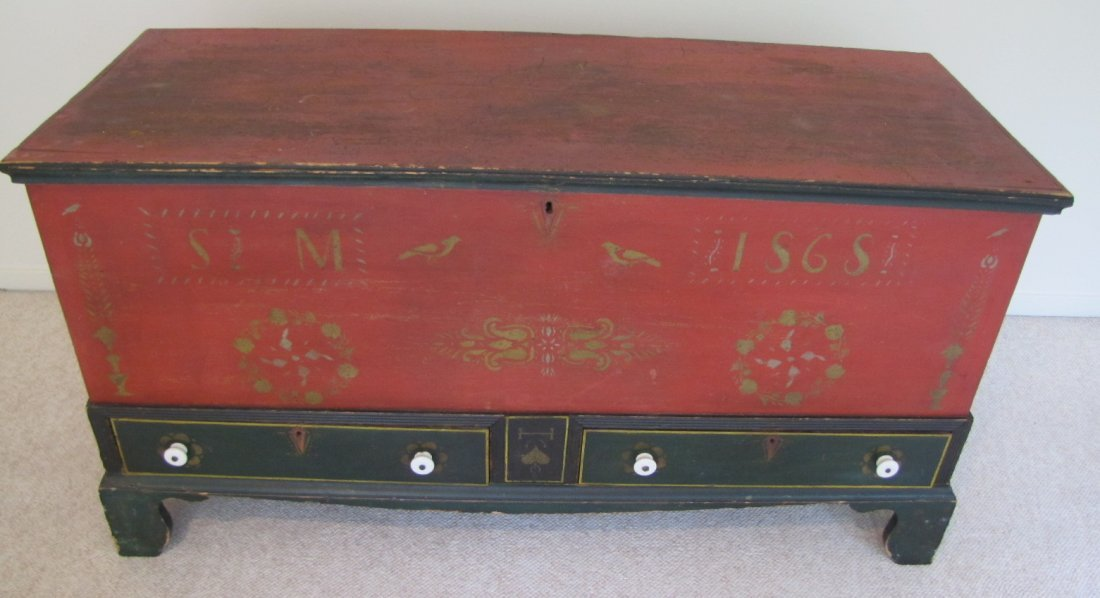 1868 Soap Hollow Chest