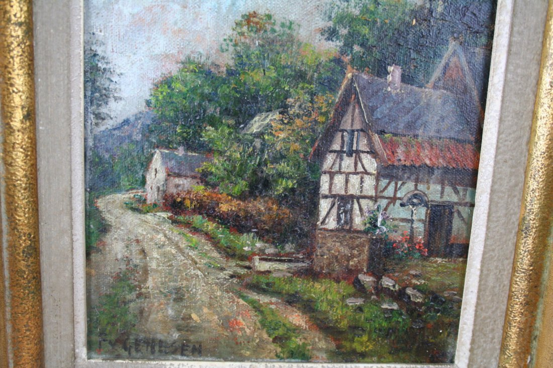 Frans van Genesen signed 1887-1945 oil on canvas - 3