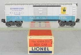 LIONEL 6464-325 B&O BOX CAR