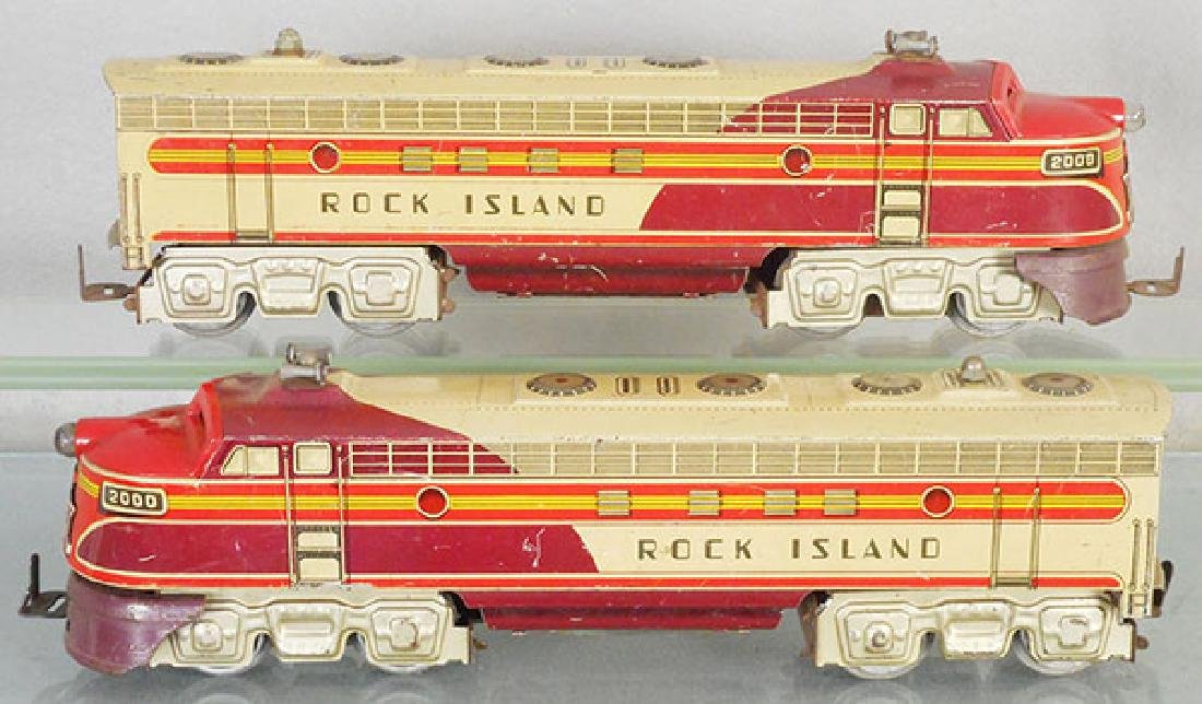 UNIQUE ART ROCK ISLAND LOCOS