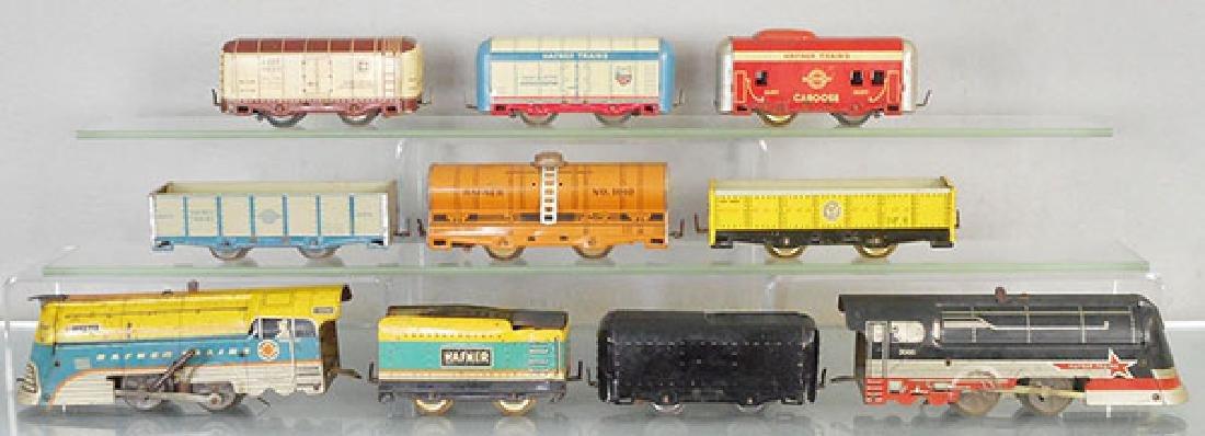 2 HAFNER TRAIN SETS