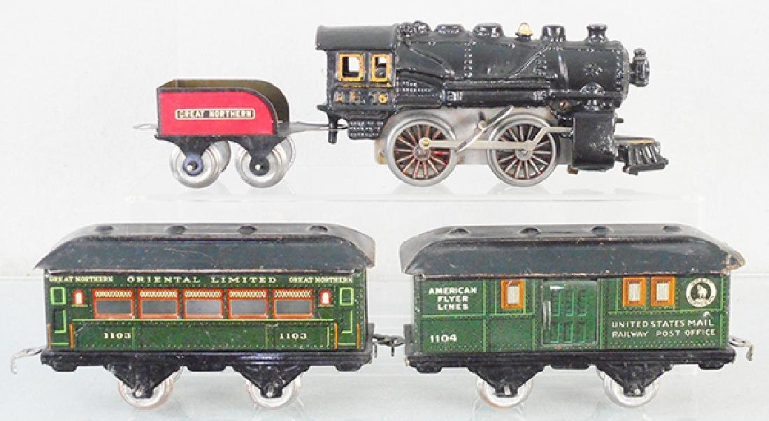 AMERICAN FLYER GREAT NORTHERN TRAIN SET