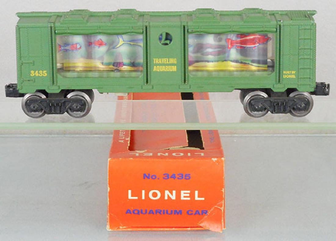 LIONEL 3436 AQUARIUM CAR