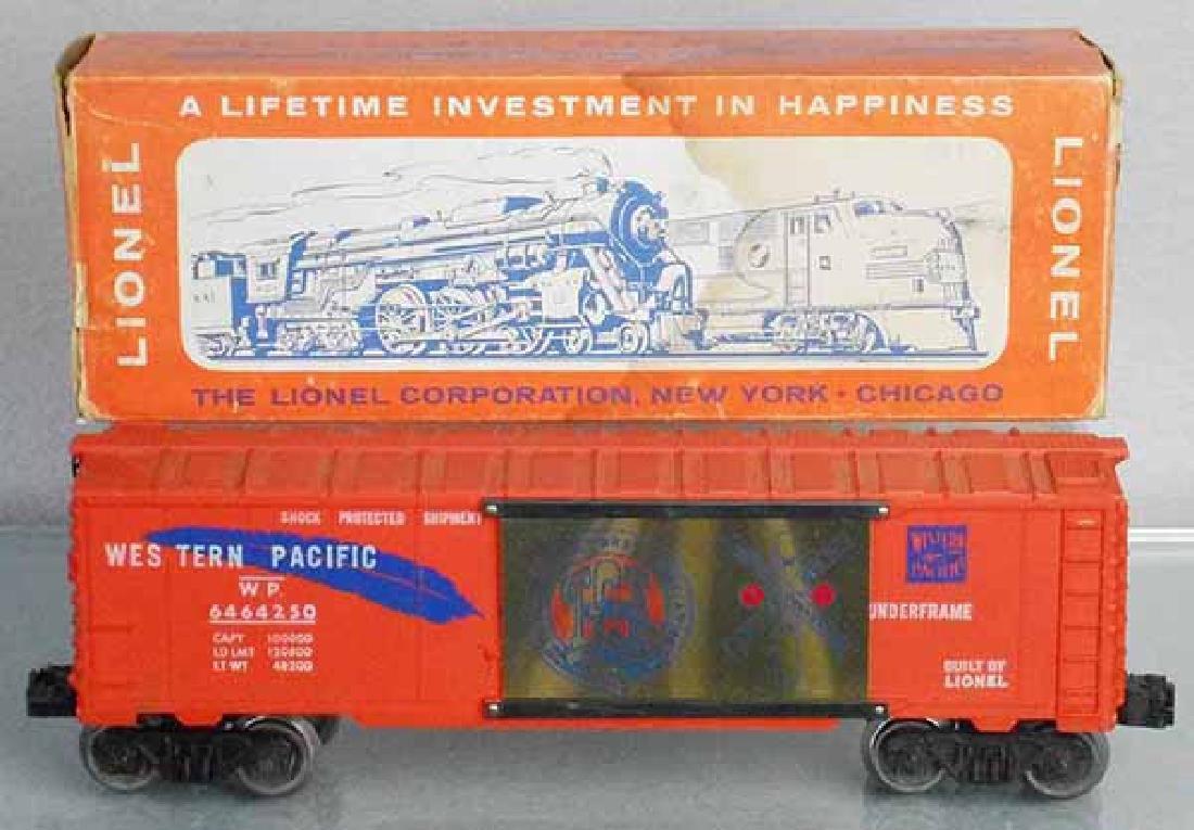 LIONEL TCA 6464-250 WESTERN PACIFIC BOX CAR