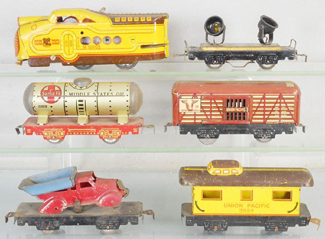 MARX UNION PACIFIC TRAIN SET