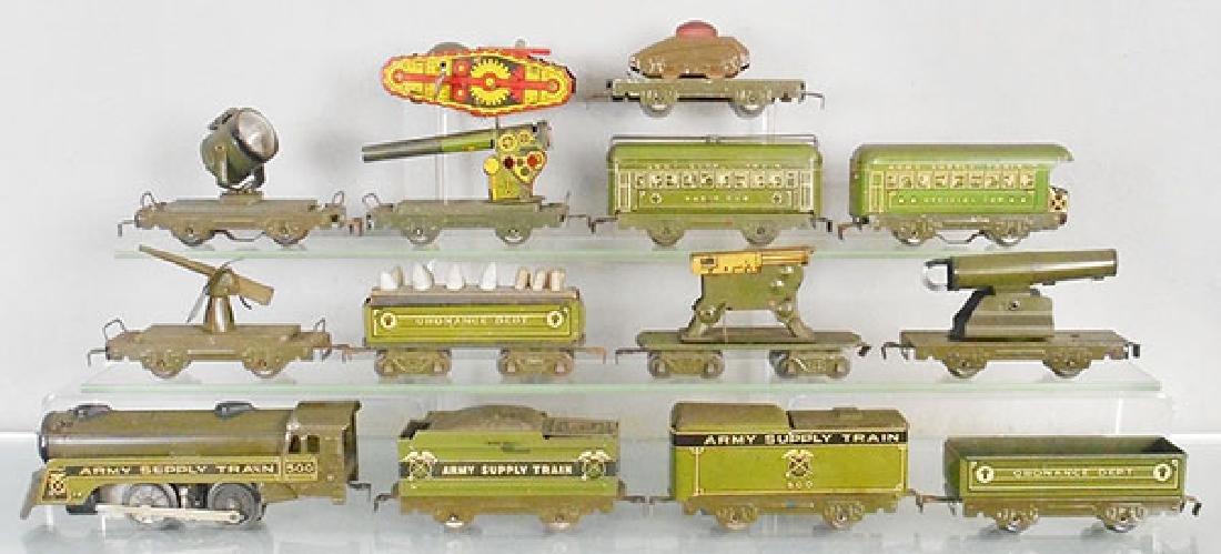 MARX ARMY SUPPLY TRAIN