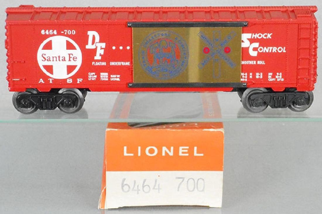 LIONEL 6464-700 TCA SANTA FE BOX CAR