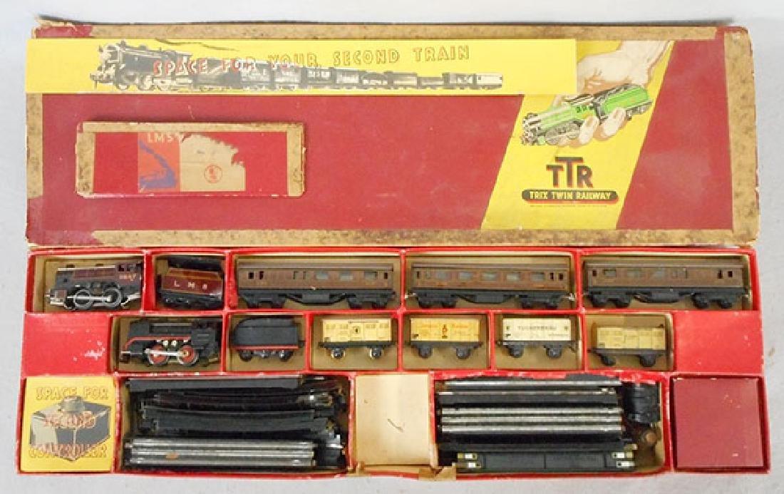 2 TRIX TRAIN SETS