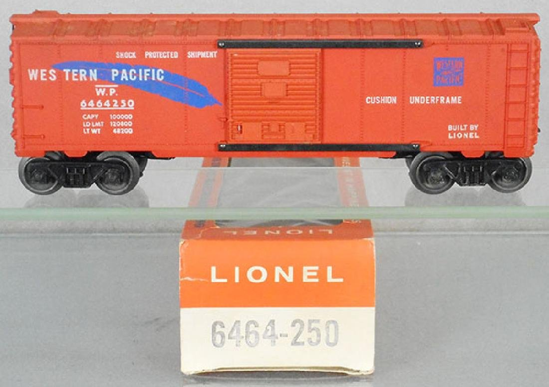 LIONEL 6464-250 WESTERN PACIFIC BOX CAR