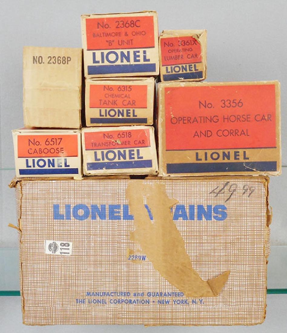 LIONEL 2269W TRAIN SET - 2