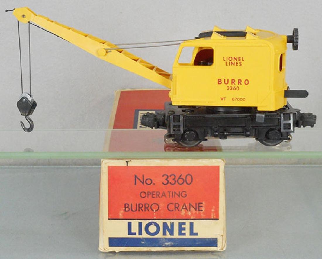 LIONEL 3360 BURRO CRANE