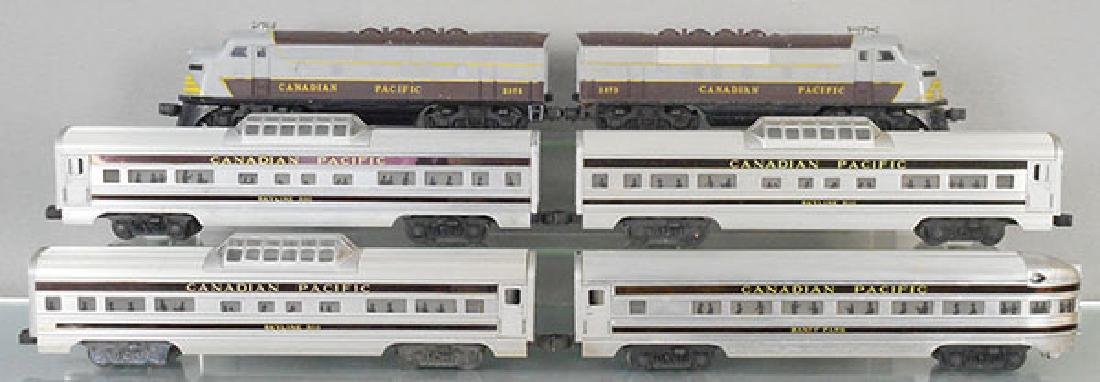 LIONEL 2296W CANADIAN PACIFIC TRAIN SET
