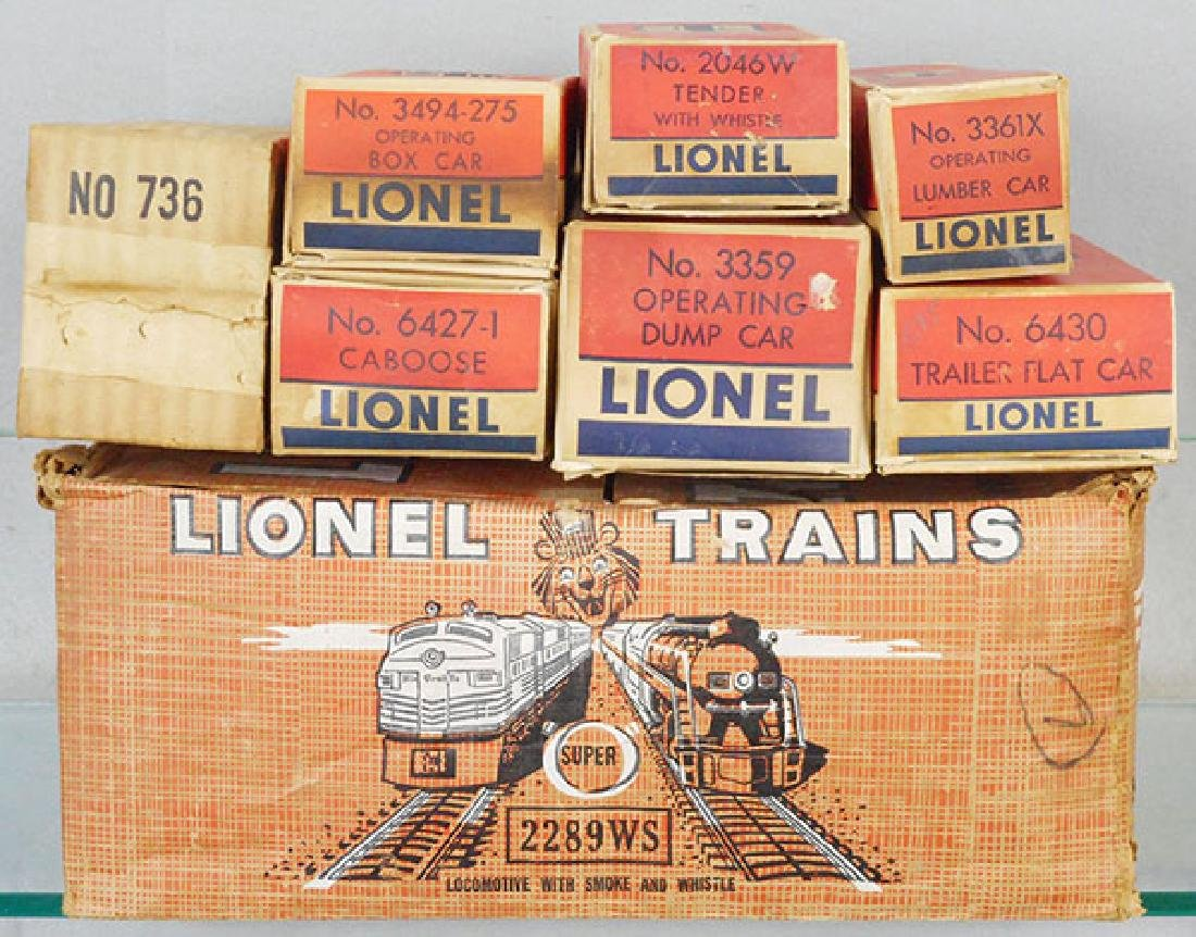 LIONEL 2289WS TRAIN SET - 2