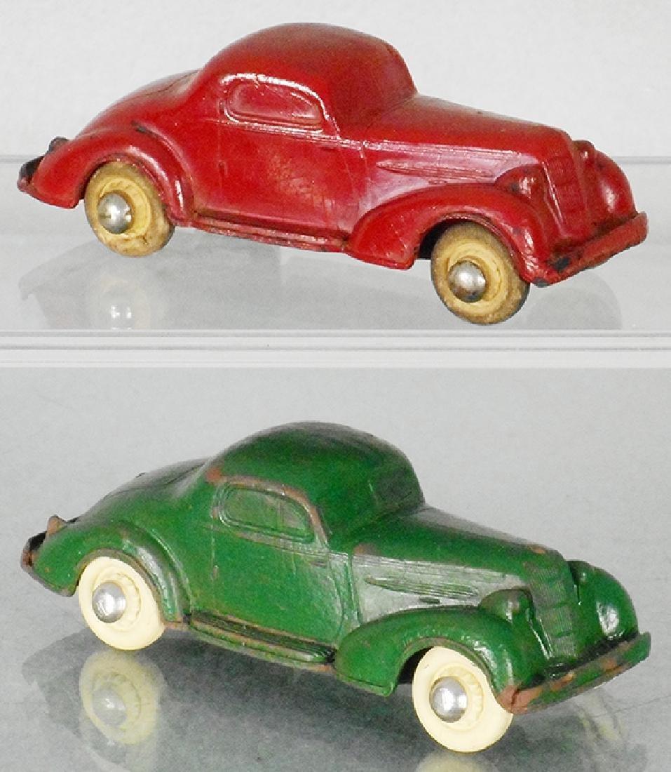 2 RAINBOW RUBBER 1935 OLDSMOBILES