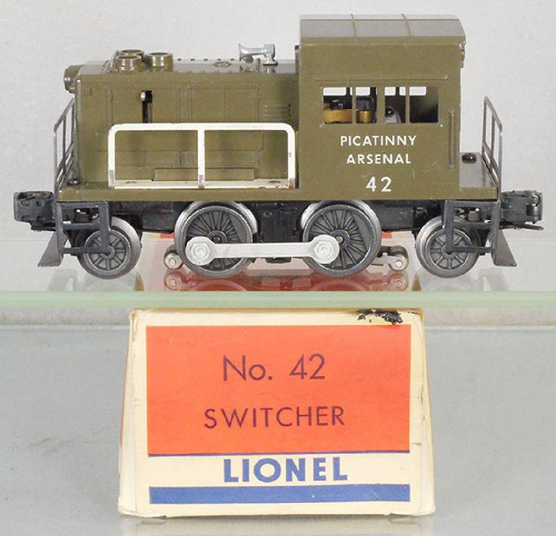 LIONEL 42 PICATINNY ARSENAL