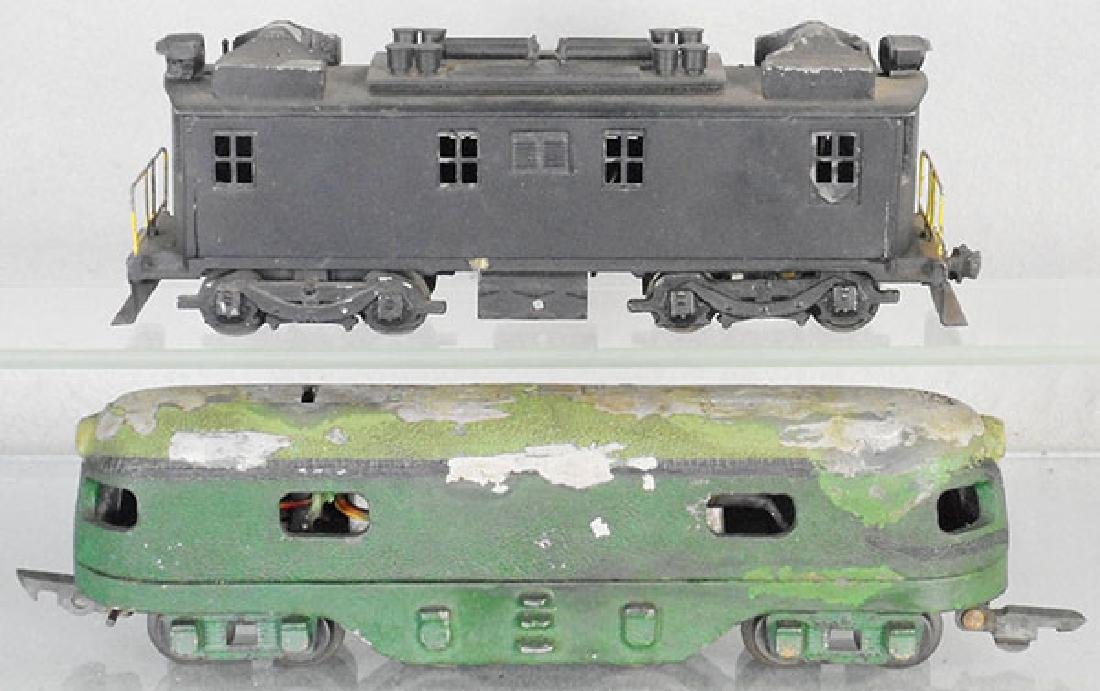 2 SCALE ELECTRIC LOCOS