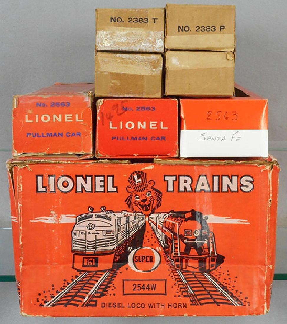 LIONEL 2544W SUPER CHIEF TRAIN SET - 2