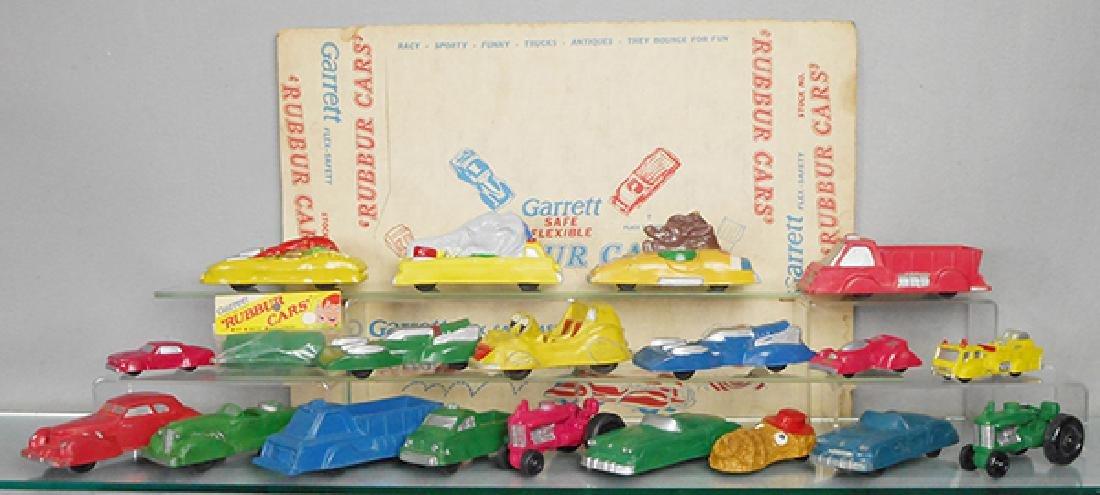 20 GARRETT RUBBER CARS