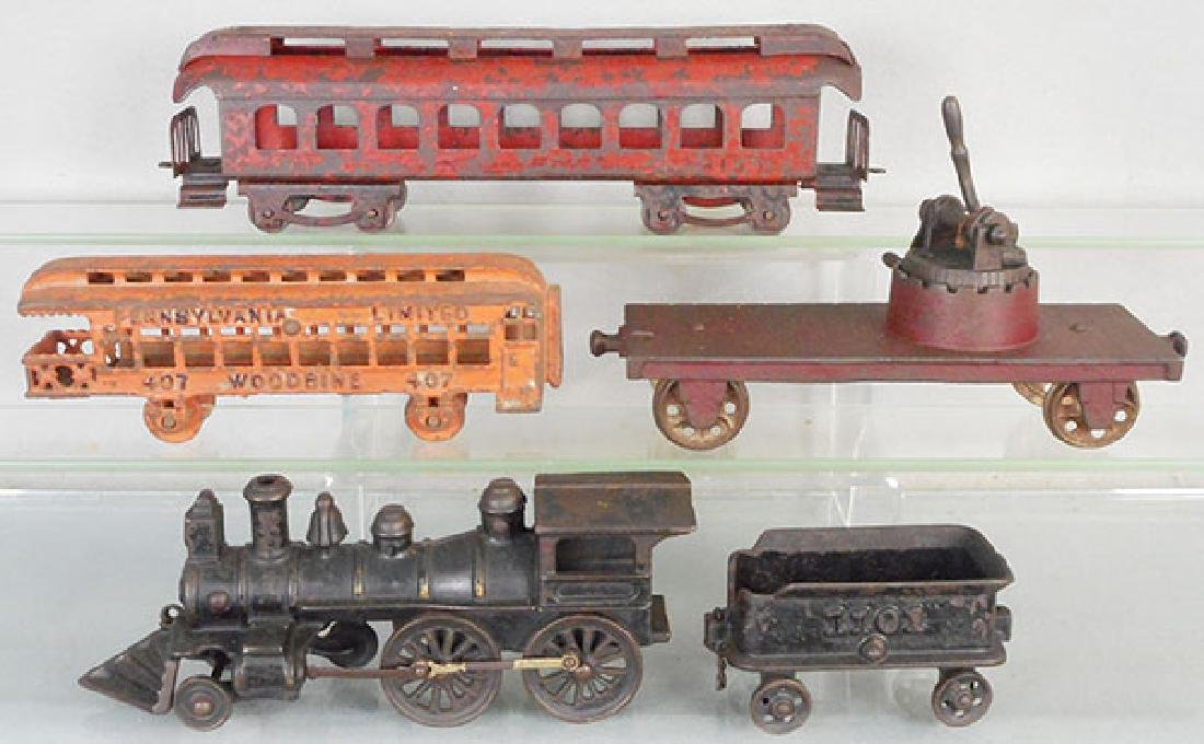 CAST IRON TRAIN LOT