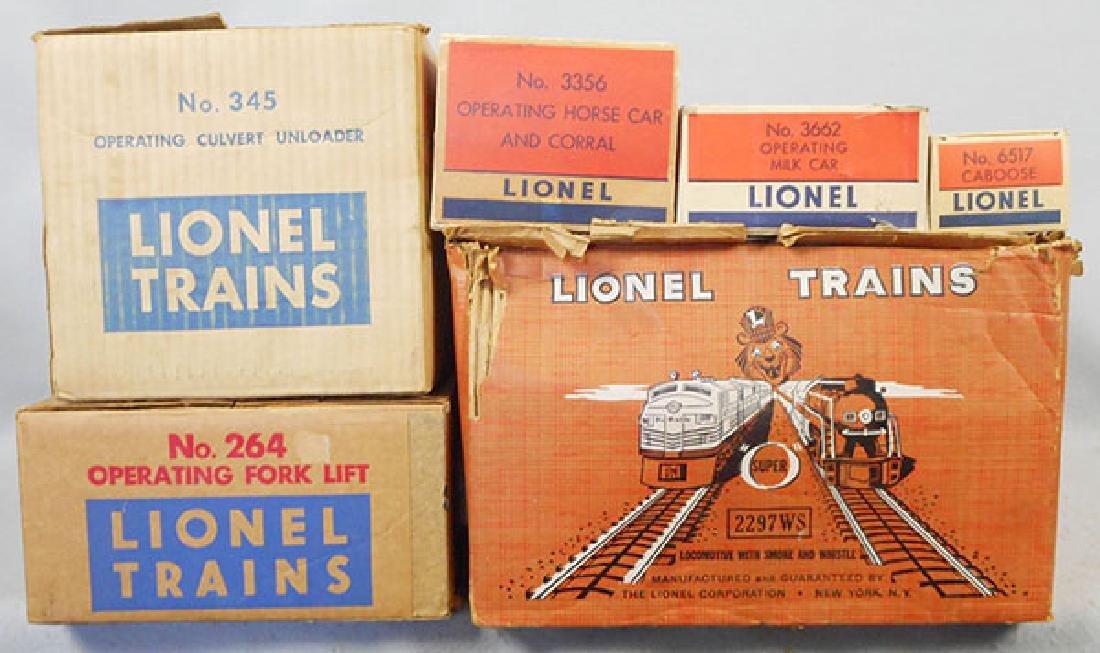 LIONEL 2297WS TRAIN SET - 2