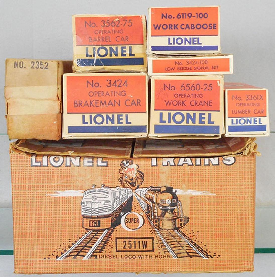 LIONEL 2511W TRAIN SET - 2