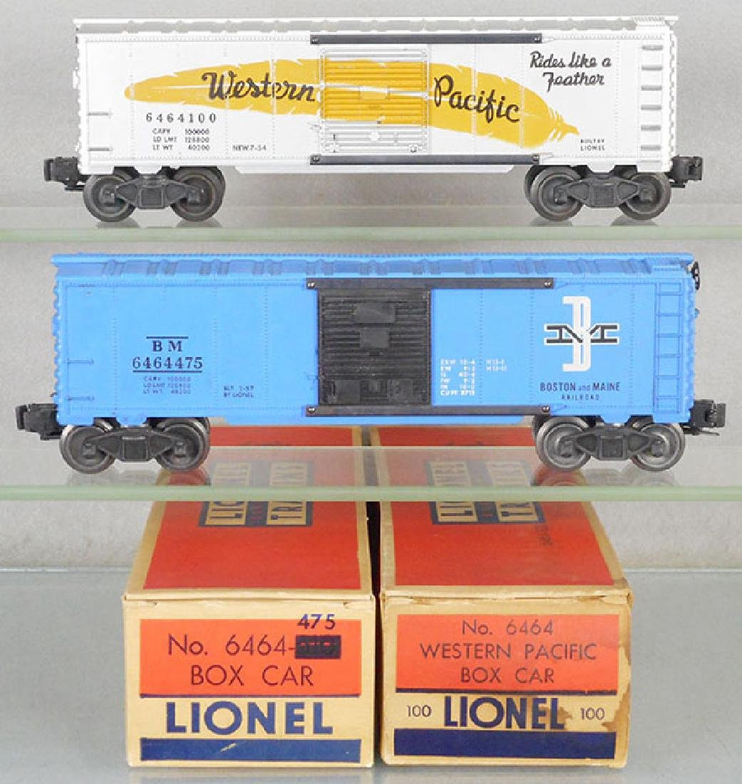 2 LIONEL BOX CARS