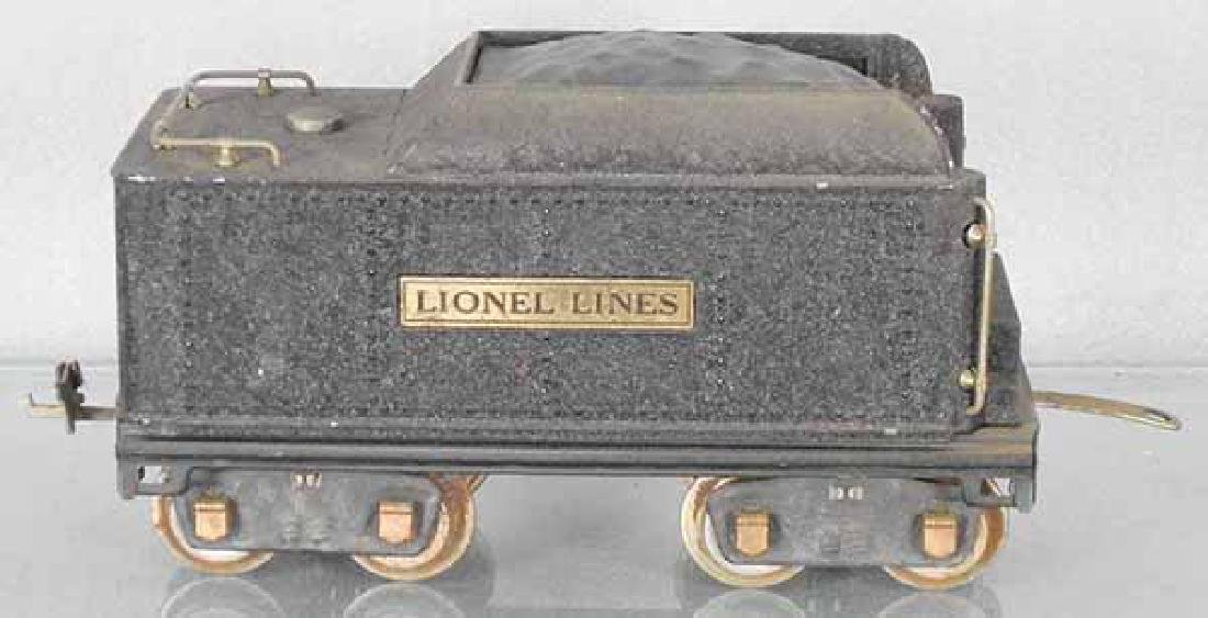 LIONEL 384T CRACKLE BLACK TENDER