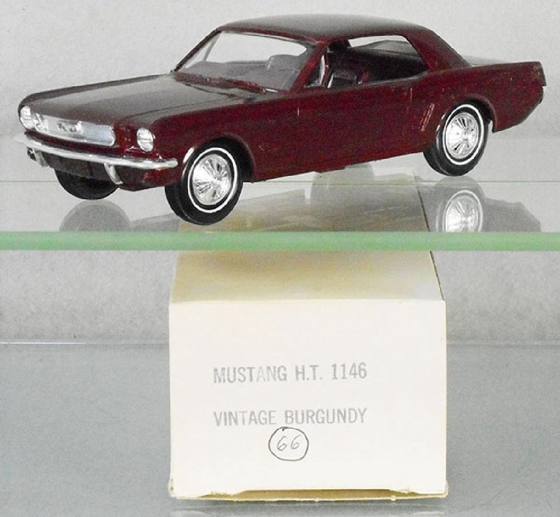 AMT 1966 FORD MUSTANG PROMO