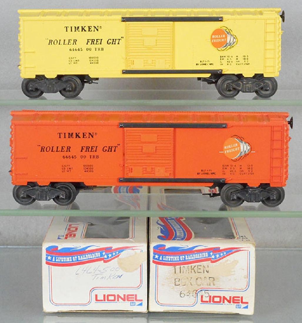 2 LIONEL MPC 6464-500 BOX CARS