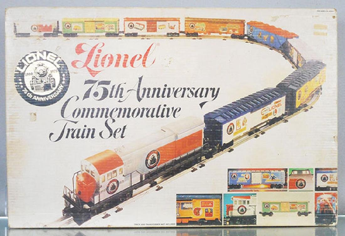 LIONEL 1585 75TH ANNIVERSARY TRAIN SET