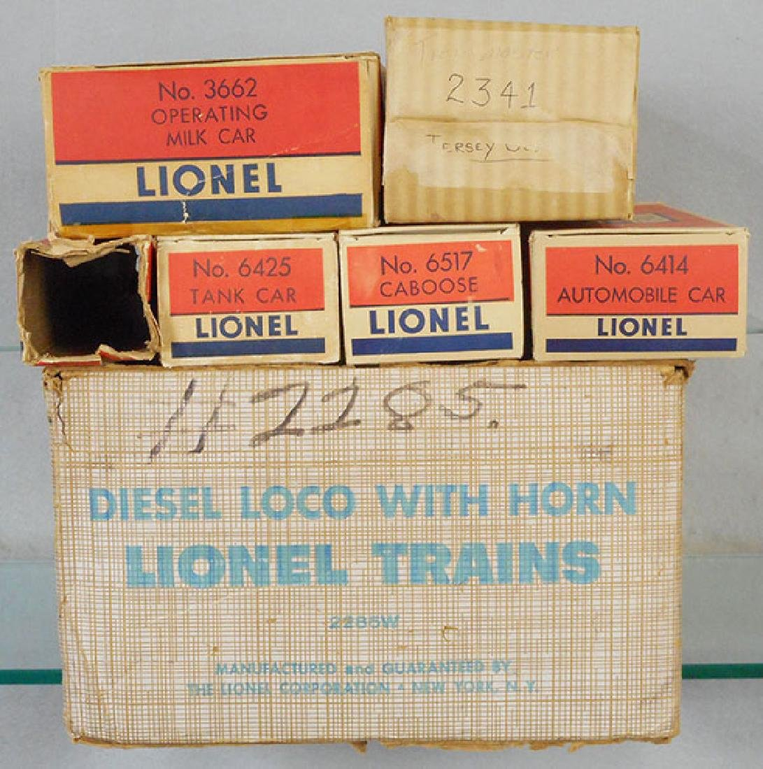 LIONEL 2285W TRAIN SET - 2