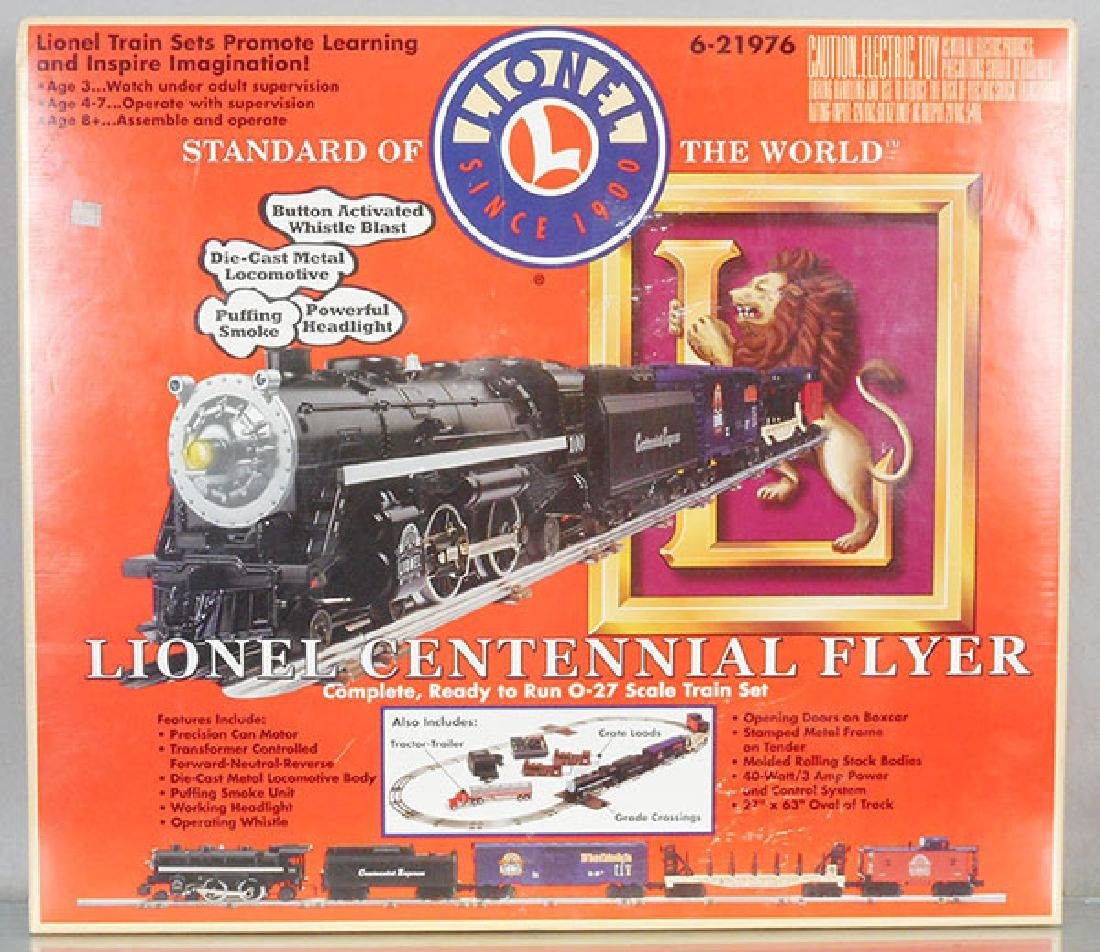 LIONEL 21976 CENTENNIAL FLYER TRAIN SET