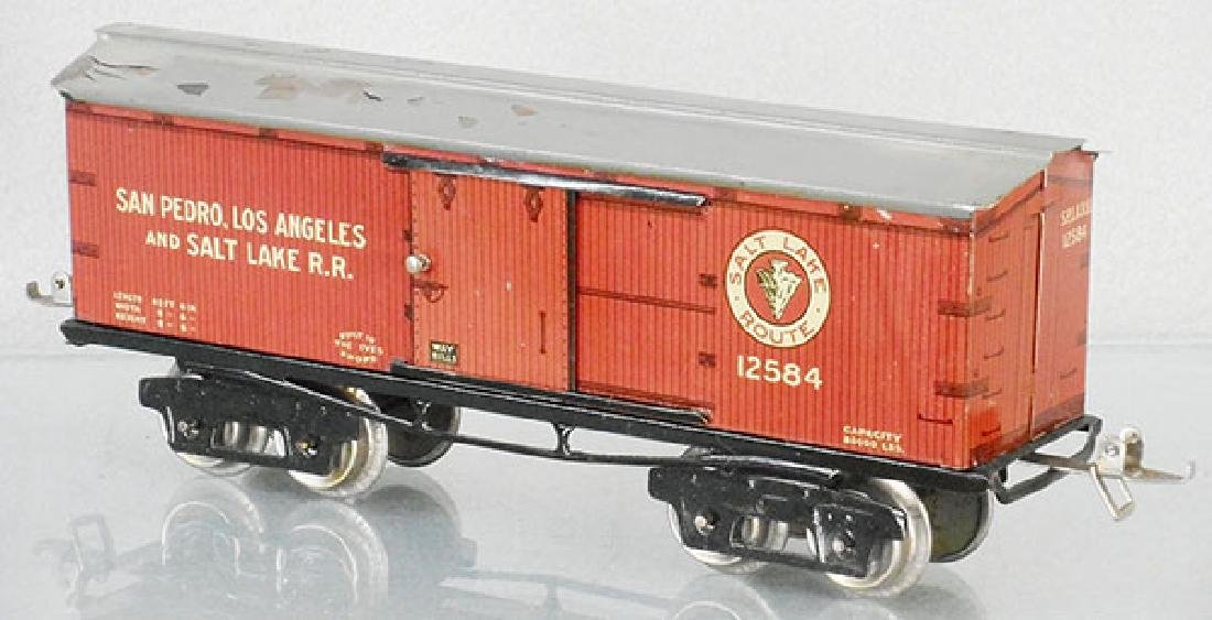 IVES 125 SALT LAKE BOX CAR