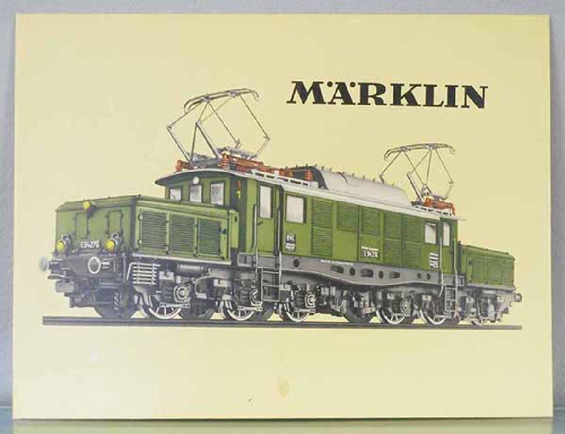 MARKLIN STORE SIGN