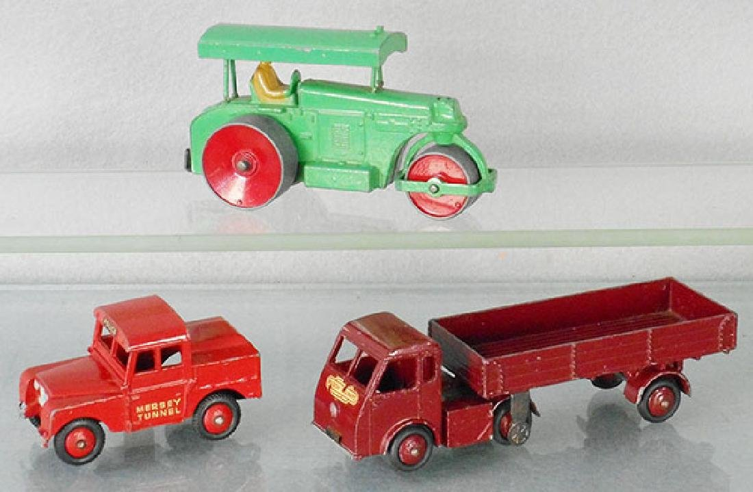 3 DINKY VEHICLES