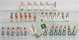34 NAPOLEONIC SOLDIERS