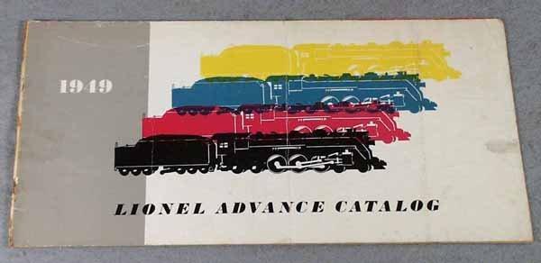002: LIONEL 1949 ADVANCE CATALOG